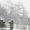 Easter Sunrise Service at Bethania Moravian Church, 1956.