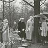 Easter Sunrise Service at God's Acre in Salem, 1958.