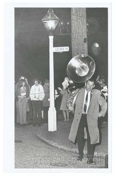 Easter Sunrise Service at God's Acre in Salem, 1971.