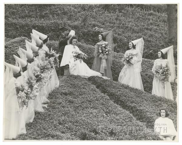 May Day celebration at Salem College, 1941.