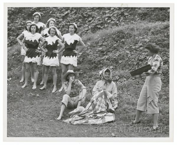 May Day celebration at Salem College, 1951.