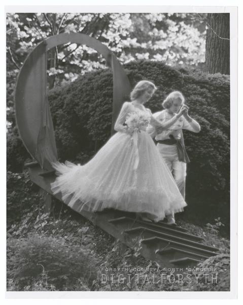 May Day celebration at Salem College, 1953.