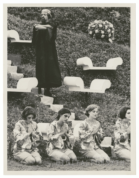 May Day celebration at Salem College, 1965.