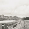 Last passenger train run from Winston-Salem to North Wilkesboro, 1955.