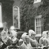 Fourth of July celebration at Old Salem, 1969.