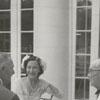 Wedding reception of Betsy Babcock and George Myatt at Reynolda House, 1958.