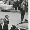 Funeral for Thurmond Chatham in Elkin, N. C., 1957.