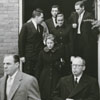 Funeral for Thurmond Chatham in Elkin, N. C.,1957.