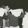 First panty raid for Wake Forest College on the Winston-Salem campus, 1957.