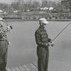 Dr. Courtland Davis, Jr. and Dr. Fred Garvey fishing.