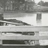 Flood on Ebert Street in Janita Lakes area, 1959.