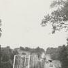 Yadkin River bridge construction, 1940.