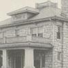 Berlie L. Hine house at 701 Cloverdale Avenue, 1924.