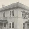 William E. Lineback house at 610 Hawthorne Road, 1924.