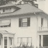 Arline F. Messick house on Buena Vista Road, 1924.