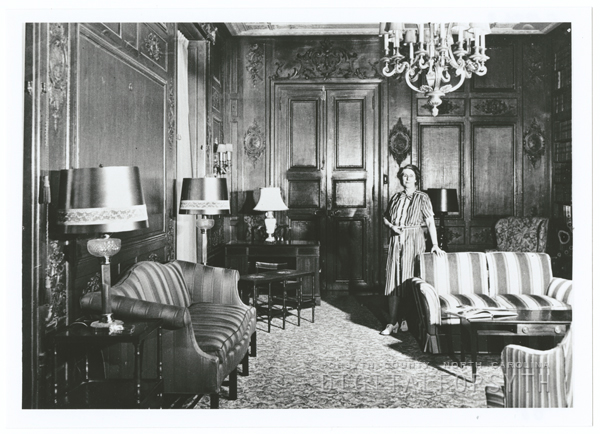 Interior of the Graylyn estate, located off of Reynolda Road.