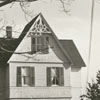 An unidentified house in Clemmons, 1940.