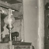 Interior of the Leon T. Butner house in Bethania, 1942.