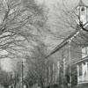 Bethania Moravian Church on Main Street in Bethania, 1959.