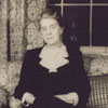 Carnegie librarian Miss Janet Berkeley, 1942.