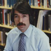 Jerry Carroll, Forsyth County Public Librarian, 1983.