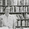 Forsyth County Public Library staff members, Jennie Spoon, Louise Plybon and Frances King, 1954.