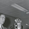 Forsyth County Public Library Dedication, 1953. Ralph P. Hanes at podium.