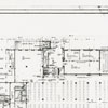 Forsyth County Public Library architectural drawing of the ground floor, 1951.