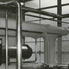 Forsyth County Public Library boiler room, 1953.