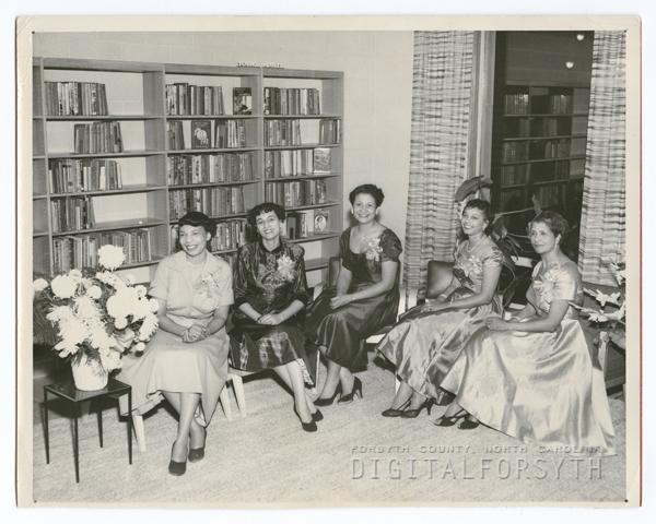 East Winston Branch Library dedication, 1954.