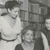 East Winston Branch Library staff, 1958.