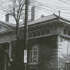 Carnegie Library exterior, 1954.