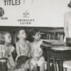 Children's story hour in the Carnegie Library, 1949.