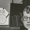 Announcing the Carnegie Library's collection of large print books, 1952.