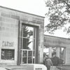 Forsyth County Public Library building front exterior, 1980.