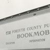 Forsyth County Public Library bookmobile.