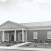 Kernersville Branch Library exterior, 1971.