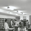Rural Hall Branch Library interior, 1966.