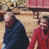 Carver School Road Branch Library groundbreaking, 1997.