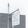Rural Hall Branch Library exterior, 1990.