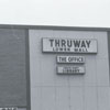 Thruway Shopping Center, showing lower side entrance to the Thruway Branch Library, 1990.