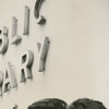Alvin Lindsay, Cassandra Roberts, and Cheryl Parker at East Winston Branch Library, 1963.