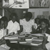 Children at the George Moses Horton Branch Library, 1941.