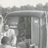 Bookmobile from the George Moses Horton Branch Library.