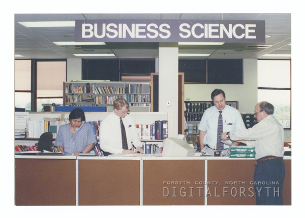 Business Science Department at the Forsyth County Public Library.