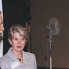 Business reception at the Forsyth County Public Library, 2000.