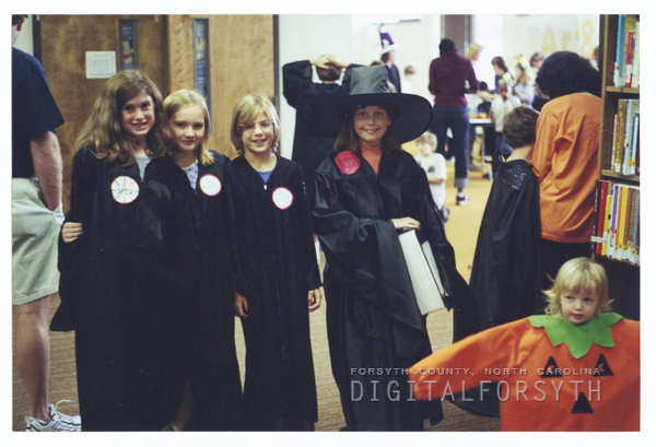 Harry Potter program in the library's auditorium.