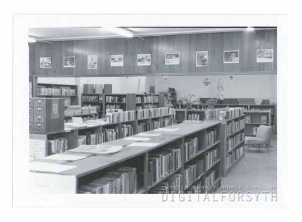 Southside Branch Library on Konnoak Drive interior.