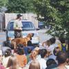 Children's program at the Kernersville Branch Library.