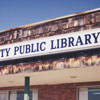 Lewisville Branch Library exterior.